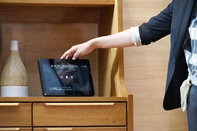 音声やタッチ操作でプライム・ビデオの再生も可能