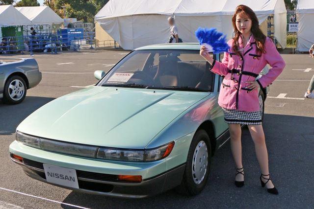 「S13」という型式で呼ばれ、ドリフト車としてもナンパ車としても人気だった