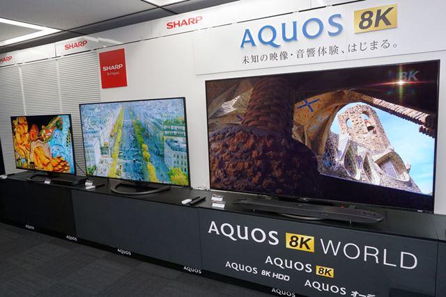 画面サイズは80型、70型、60型の3サイズをラインアップ