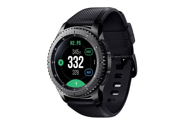 「Galaxy Gear S3 Frontier Golf Edition」