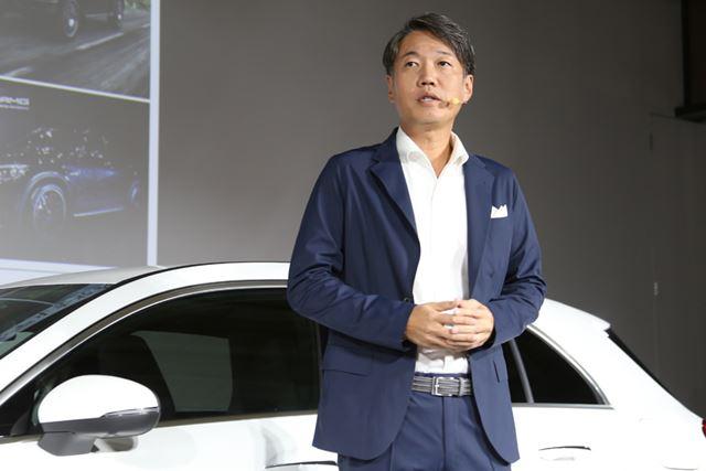 メルセデス・ベンツ日本 代表取締役社長の上野金太郎氏