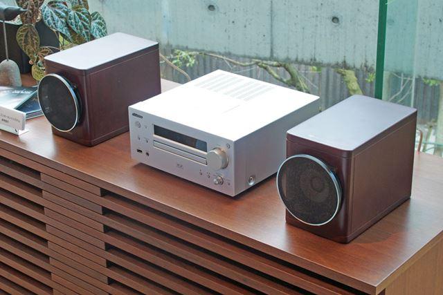 来年2月に発売を予定しているWOOD CONEオーディオシステムの最新モデル