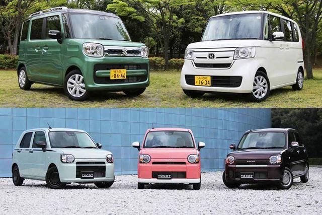 乗用車全体の受注台数のうち、3分の1を占める「軽自動車」は人気のカテゴリーだ。