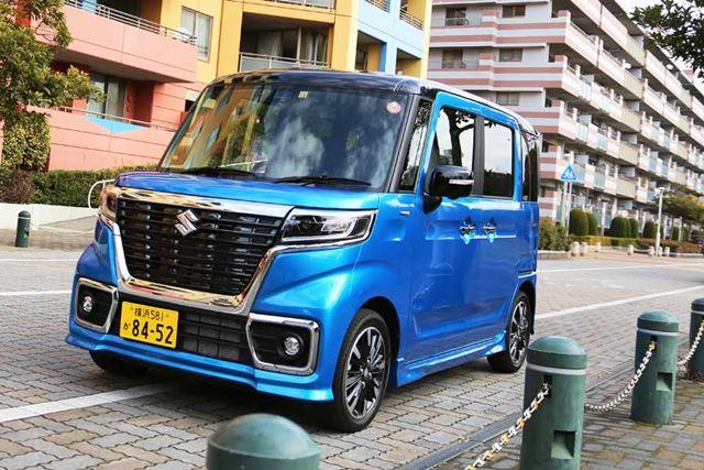 ボディサイズに制限がある軽自動車は、日本の道路事情にマッチしている。
