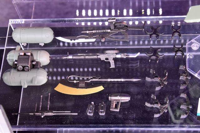 「ROBOT魂 <SIDE MS> ジオン軍武器セット ver. A.N.I.M.E.」