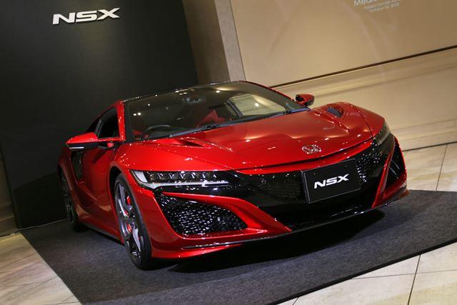 ホンダ 新型「NSX」2019年モデル。新型NSXは、走りを中心とした改良が施されている。