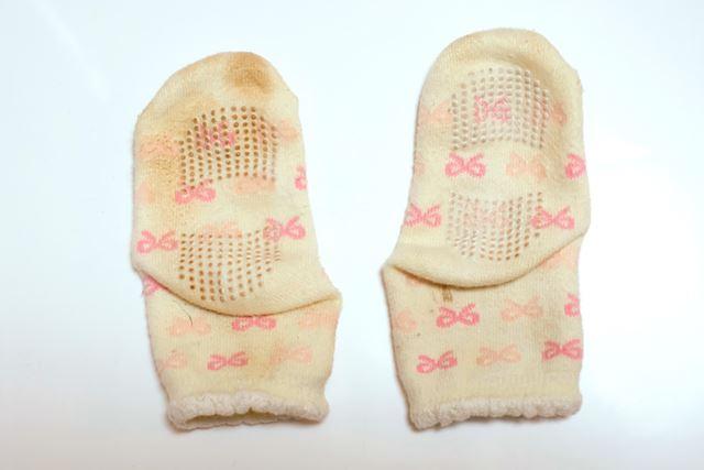こちらの靴下を洗ってみたいと思います