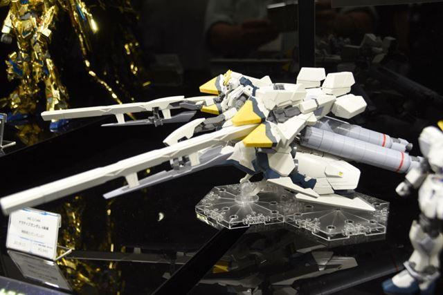 「第58回全日本模型ホビーショー」で展示されていた「HGUC 1/144 ナラティブガンダム A装備」