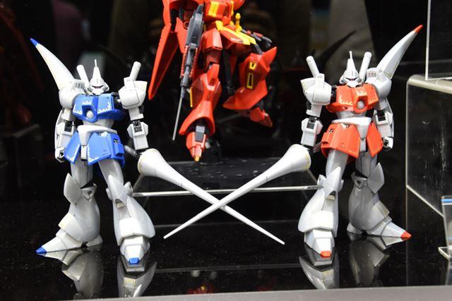 「第58回全日本模型ホビーショー」で展示されていた「HG 1/144 ガズ R/L」