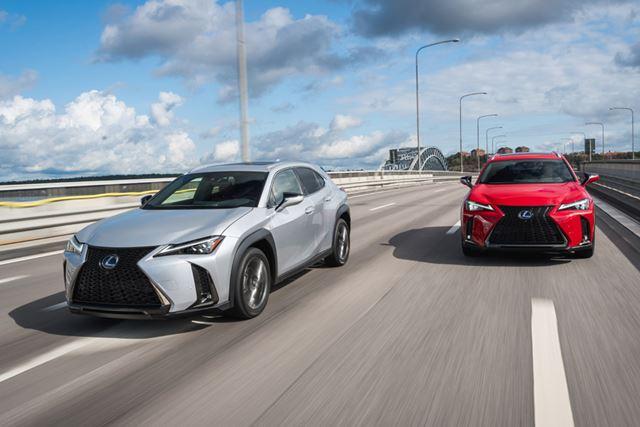 トヨタ「C-HR」のプラットフォームが使われているレクサス「UX」。だが、その中身はC-HRとはすべてが異なる