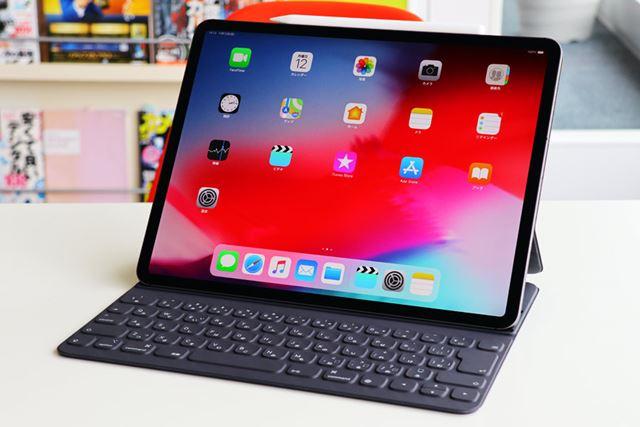今回試したのは、iPad Pro(12.9型)のWi-Fi+Cellularモデル(1TB)