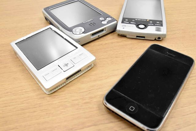 「現在はiPhoneを使っていて、情報端末としてはこれで十分だと感じています」(塚本氏)