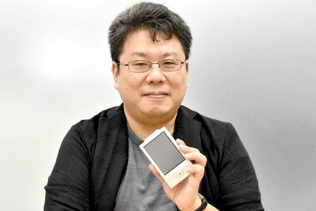 今回、リナザウの話からモバイルの未来まで、塚本氏に幅広く語っていただいた