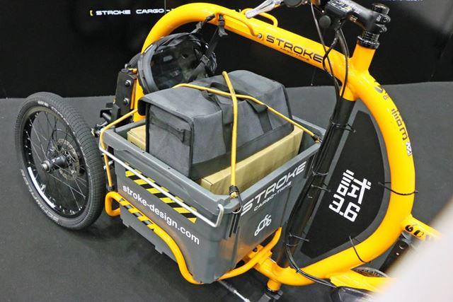 テストではカーゴスペースに100kgの荷物を積むこともあるが、法的には上限30kgとなる