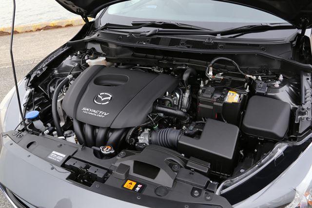 マツダ「デミオ」の「SKYACTIV-G 1.5」1.5リッターガソリンエンジン