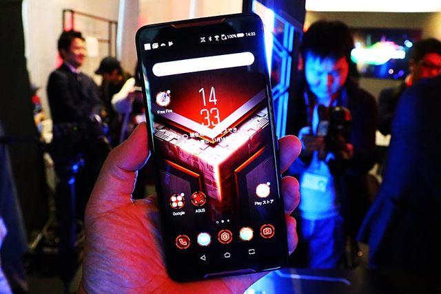 ゲームに特化したハイスペックなSIMフリースマホのROG Phone