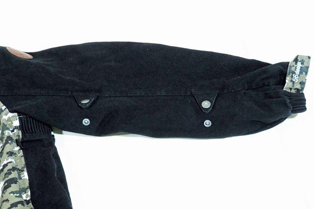 袖のバタツキを抑えられるように、フィット感を調整する機構も用意
