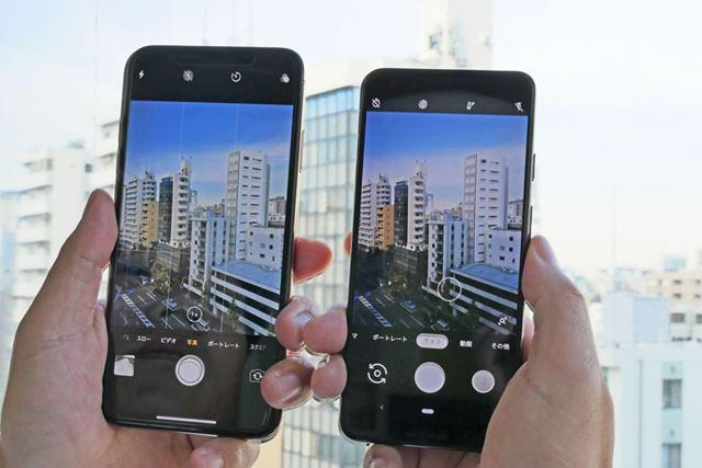 アップル「iPhone XS Max」とGoogle「Pixel 3」のカメラ性能を徹底比較!