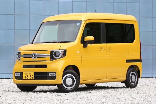 2018年7月13日に発売された、ホンダの軽商用車「N-VAN」。ベース車両はN-BOXだ。