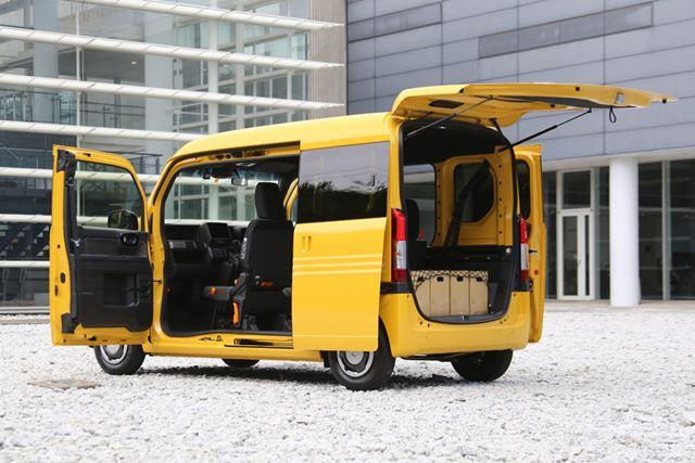 軽商用車では、荷物を運ぶための自動車としてさまざまな基準が定められている