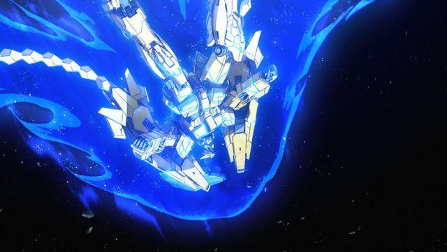 劇中の「ユニコーンガンダム3号機 フェネクス」