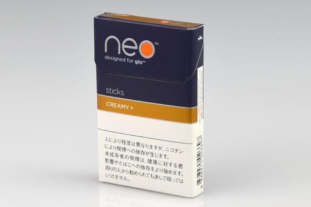 パッケージには、「CREAMY +」と表示された「ネオ・クリーミー・プラス・スティック」