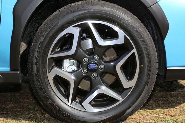 スバル「XV Advance」のホイール&タイヤ