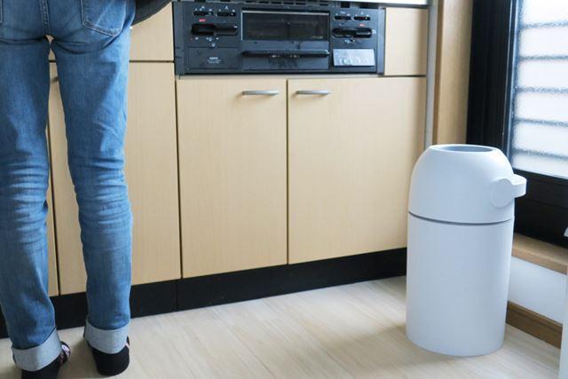 排泄物のニオイが漏れてこないので、キッチンで調理する際もまったく気になりません!