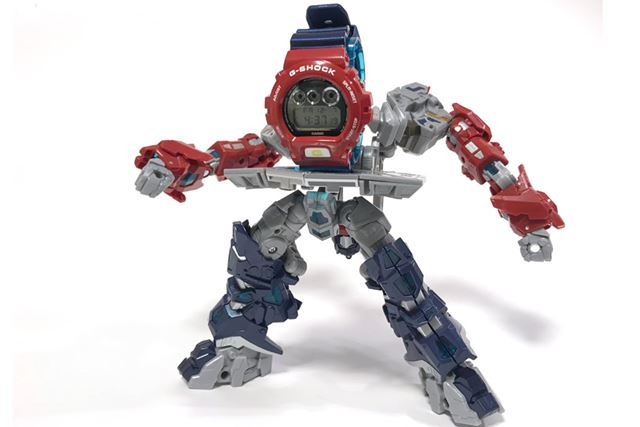 こんな感じで、謎のロボットとしても楽しめる!