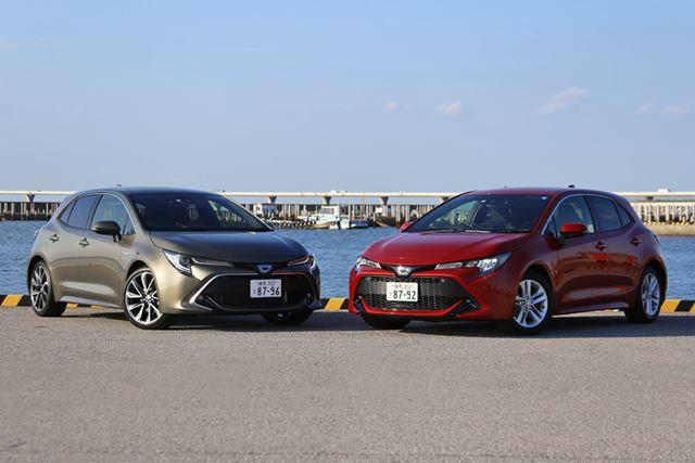 スポーティーなデザインをまとって、2018年6月に発売されたトヨタ「カローラスポーツ」