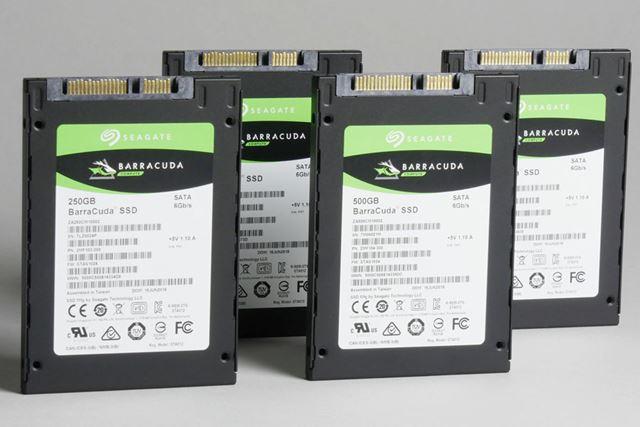HDDの定番「BarraCuda」シリーズからついにSSDが登場した