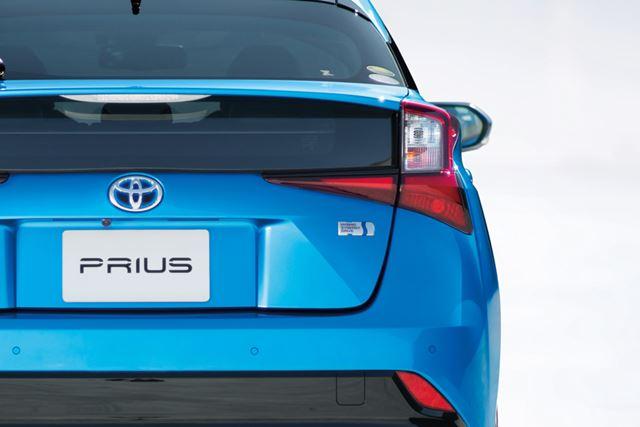 トヨタ 新型「プリウス」のリアイメージ