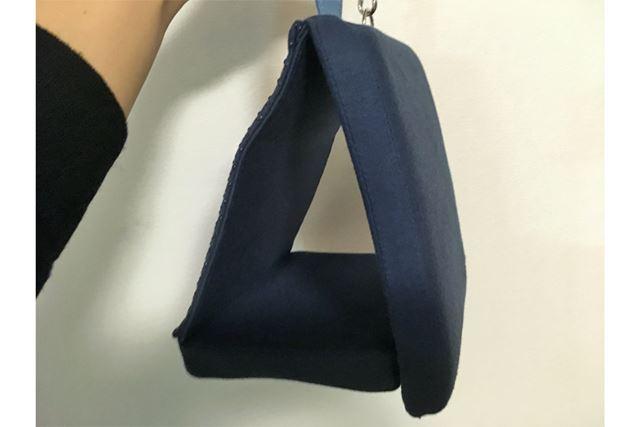 パタンと組み立てると、三角形になるのです