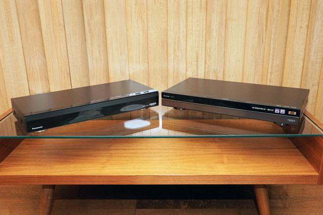 12月中旬現在、4Kチューナー内蔵のレコーダーはパナソニックとシャープの2社から発売中だ