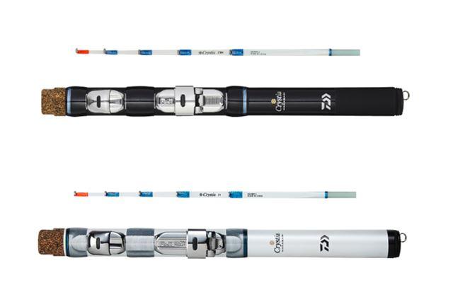 ブラックとホワイトの2色展開。穂先は21cmまでなら本体に収納可能だ