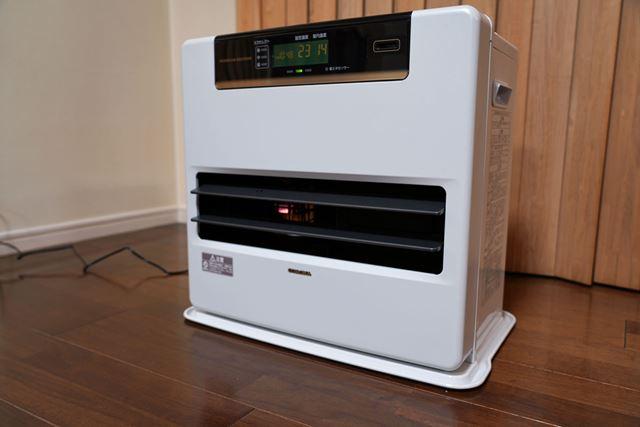 全体的にバランスのよいコロナ「FH-WZ5718BY」。暖まり方はややマイルド