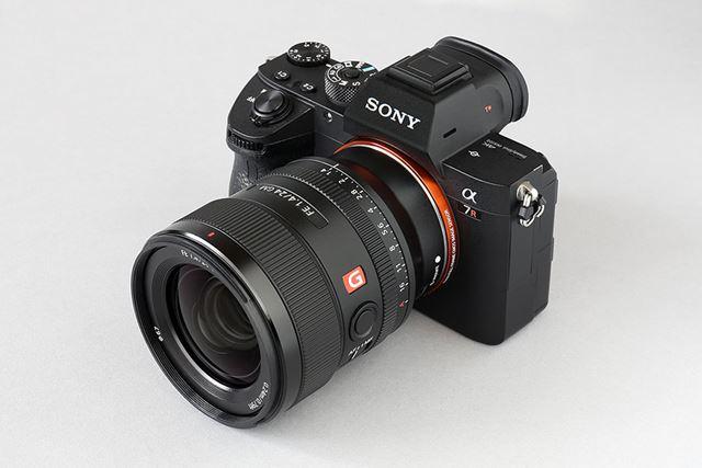 発売から高い人気をキープしているFE 24mm F1.4 GM(カメラボディはα7R III)