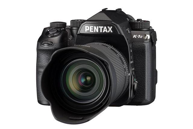 画質と機能性が向上したフルサイズ一眼レフPENTAX K-1 Mark II
