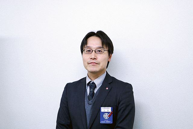 松坂屋上野店催事担当の古賀さん
