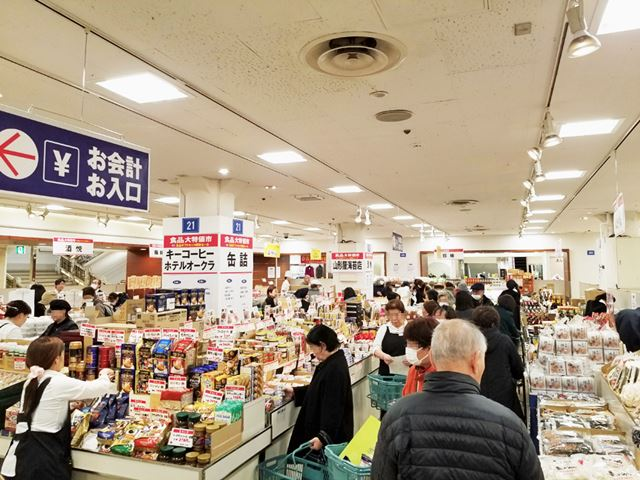 昨年のギフト解体セールの様子(提供:松坂屋上野店)