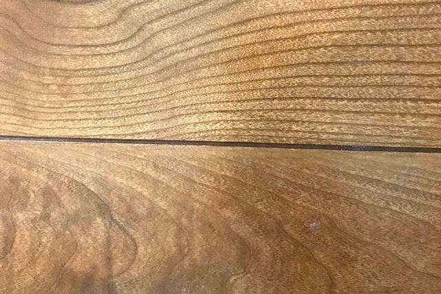 床をアップにしても取り残しがわからないほど、溝に入り込んだ重曹までスッキリ取れました