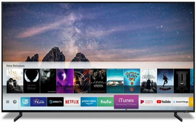 サムスン製のスマートテレビでiTunesの利用が可能に