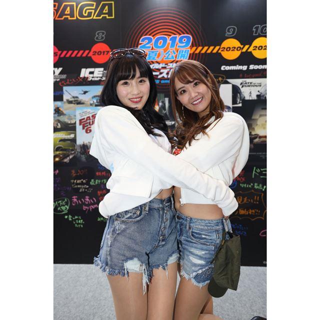 ワイルドスピードブース/東京オートサロン2019 コンパニオン