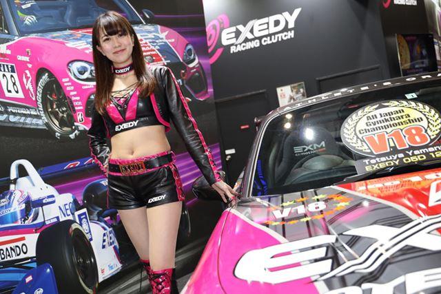 EXEDYブース/東京オートサロン2019 コンパニオン