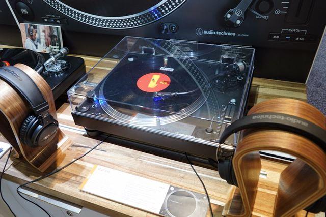 オーディオテクニカのDJ向けターンテーブル「AT-LP140XP」