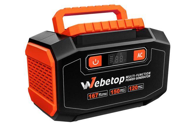 Webetop「ポータブル電源/167Wh」