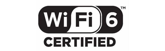 「Wi-Fi 6」認証を受けたデバイスに付けられるロゴマーク