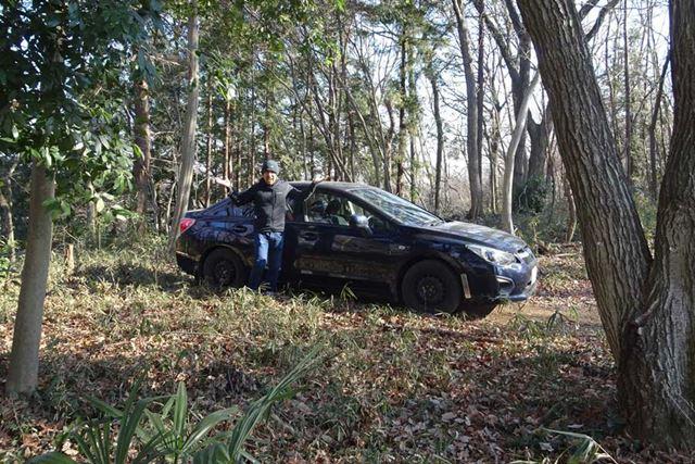 """たとえば、人気のない山奥で車にアクシデントが発生し、""""立ち往生""""しないとも限りません……"""