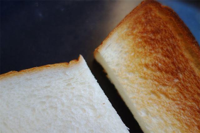 う〜ん焼きたてトーストのいいにおい
