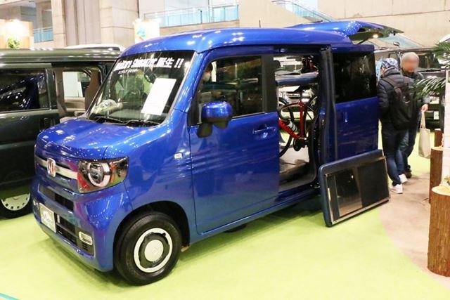 乗車可能人数は4人で、大人2人が車中泊できる。価格は229万1000円(税別)